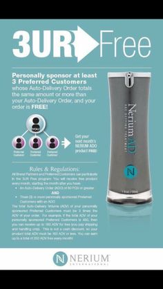 Amazing referral program available to everyone!! Hovermalemisty.nerium.com