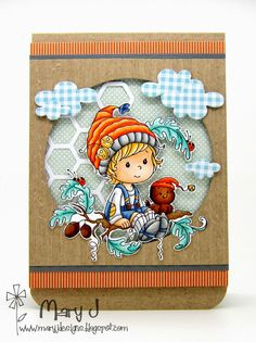 Whimsy Stamps—new Wee Stamps called Oak Tree Boy.