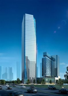 Bahana office tower & Waldorf Astoria hotel at Mega Kuningan CBD, South Jakarta / Mixed-use Commercial & Residential Development / 185,338 M² / Under Construction