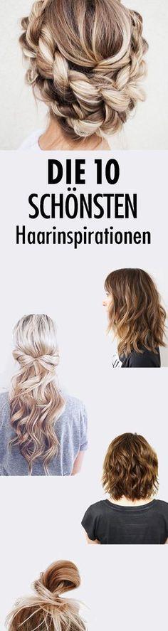 Habt Ihr Lust auf eine neue Frisur? Wir haben die besten Tutorials bei Pinterest gesammelt.