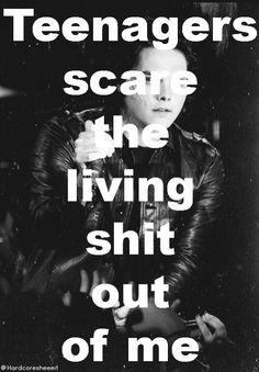 Cool Lyrics, Music Lyrics, Teenagers My Chemical Romance, Black Parade, Frank Iero, Alternative Music, Lyric Quotes, Music Stuff, Music Is Life