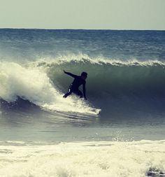 Surfing Pensacola Beach, Fl