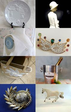 Vintage Passion Team ... The Wonders of White by Lyn Patricia on Etsy--Pinned with TreasuryPin.com