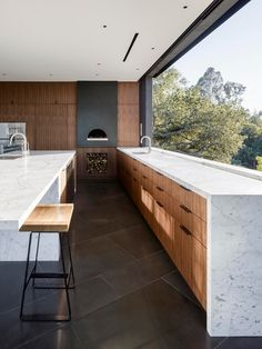Oracle-Fox-Sunday-Sanctuary, Oak, Pass, House, California, Modern, Architecture, Minimal, kitchen