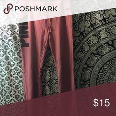 Victoria's Secret pink flare pants Rose pink flare pants PINK Victoria's Secret Pants Boot Cut & Flare