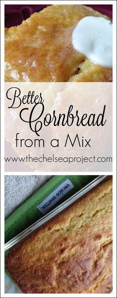 Better Cornbread from a Mix | The Chelsea Project | www.thechelseaproject.com