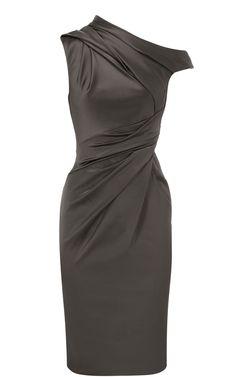 Karen Millen on üks mu lemmikuid. Stretch satiinist kleit
