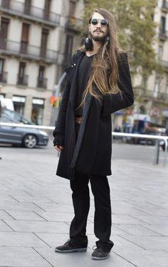 Street Style Total look y pelo largo Noviembre2011
