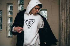 CLAW © #Hoodie #White #Collection #Man