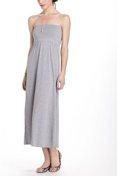 Anthropologie  Convertible Jersey Dress in Grey or Navy. It can be worn as a dress or a skirt.