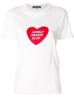 Shop Alexa Chung Lonely Hearts Club T-shirt