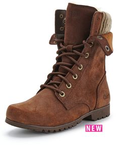 CAT Alexi fleece lace up boots - warm winter toes!