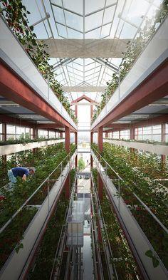 vertical farm Paris