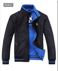 Hot 2017 Spring And Autumn Season Men Jacket For Bmw Fashion Leisure Coat Motorcycle Outfit, Motorcycle Jacket, Logo Bmw, African Wear Styles For Men, Motorbike Jackets, Stylish Shirts, Mens Fashion Suits, Mens Clothing Styles, Clothing Ideas