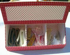 """Милые сердцу штучки: Картонаж с вышивкой и другие приятности для рукодельниц от """"Coton et Lin"""""""