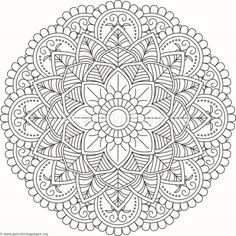 Flower Mandala Coloring Pages Adult Coloring Book Pages, Printable Adult Coloring Pages, Flower Coloring Pages, Mandala Coloring Pages, Christmas Coloring Pages, Free Coloring Pages, Coloring Sheets, Coloring Books, Mandala Doodle