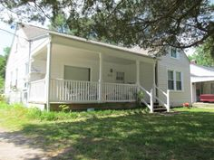 This bungalow sits on a double lot on Oaks Road and is to be sold as is in New Bern, NC