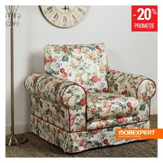Fotoliul Happy grăbește venirea primăverii. #fotoliu #flori #mobexpert #living Winter Sale, Armchair, Living, Furniture, Home Decor, Sofa Chair, Decoration Home, Room Decor, Armchairs