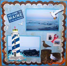 Welcome to Maine - Scrapbook.com