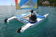 Water sports at the BodyHoliday, St Lucia