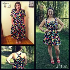 #refashion #diy dress