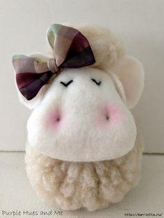 DIY Sheep Plush - FREE Sewing Pattern