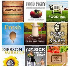Food documentaries.