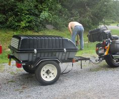 This is my first 'ible so please let me know if everything works or you want info I forgot or did not cover!HOW TO BUILD A TOW BEHIND A MOTORCYCLE OR ...