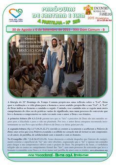 Paróquias de Santana e Ilha: A Partilha nº 206 - 30 de Agosto a 6 de Setembro d...