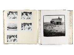 Derek Jarman sketchbook: Video stills from Jarman's 1990 film The Garden, starring Tilda Swinton and shot against the backdrop of his beloved coastal garden in Dungeness.