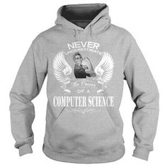 COMPUTER SCIENCE WOMAN UNDER ESTIMATE TSHIRT HOODIE
