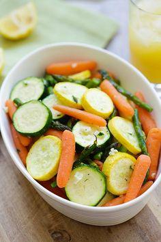 ... vegetables healthy seasonal spring vegetables roasted with garlic herb