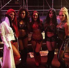 Team Total Divas at Wrestlemania 32 April 3 2016