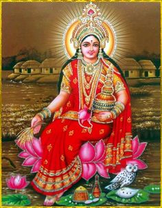 Ancient prayers dedicated to Lakshmi seek both material and spiritual wealth in prayers Indian Goddess, Mother Goddess, Goddess Lakshmi, Maa Durga Photo, Durga Maa, Mother Kali, Lakshmi Images, Lord Shiva Family, Lord Shiva Painting