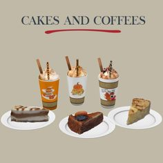 Sims 4 Updates: Leo Sims - Objects, Decor : Cakes and Coffees, Custom Content Download!