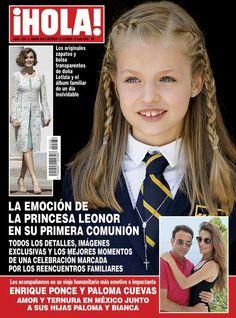 Esta semana en ¡HOLA!: La emoción de la Princesa Leonor de Asturias en su Primera Comunión