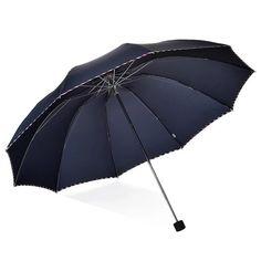 98b133711b Manual folding umbrella large reinforced weatherproof umbrella #fashion  #clothing #shoes #accessories #
