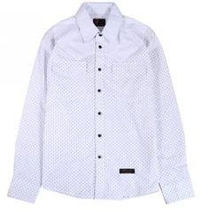 Streetwear, Button Up Shirts, Polka Dots, Buttons, Street Style, Shirt Dress, Clothing, Mens Tops, Dresses