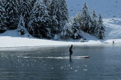 stand up paddling in cold weather