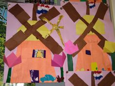 Juf Sanne: holland knutselen Netherlands, Holland, Homeschool, Flag, Country, Origami, Earth, The Nederlands, The Nederlands