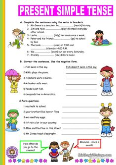One-click print document English Grammar For Kids, Teaching English Grammar, English Worksheets For Kids, English Lessons For Kids, Kids English, English Writing Skills, Grammar Lessons, English Language Learning, English Vocabulary