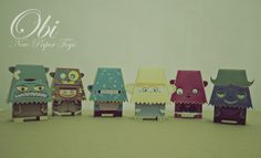 more paper monsters