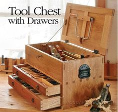 Tool Chest Plans - Workshop Solutions Plans, Tips and Tricks | WoodArchivist.com