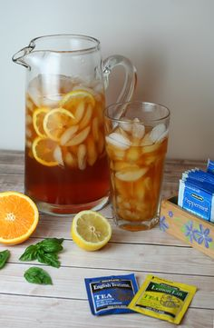 A DIY Tea Station and Tasty, Refreshing Iced Tea Recipes with Bigelow Tea!