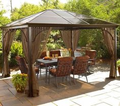 Simple Garden Gazebo Ideas