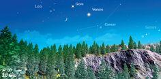 Il 20 giugno 2015, a partire dalle 21:30, con il Sole sotto l'orizzonte di almeno –6°, prenderà forma sull'orizzonte ovest una luminosissima congiunzione di tre oggetti: Luna, Venere e Giove.  Aspettiamo le vostre riprese su gallery@coelum.com