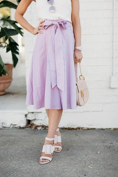 obsessed with this skirt for spring!