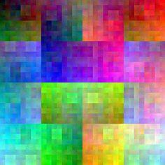 color cube palette
