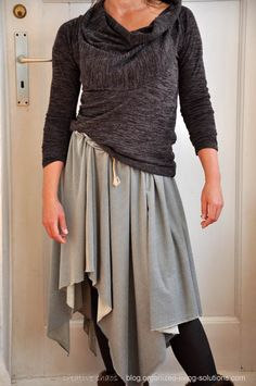LOVE IT Another no-sew skirt DIY