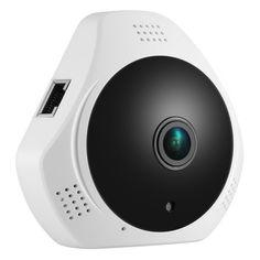SANNCE 360 Degree Wireless Panoramic Camera MINI 960P Network Wi fi Fisheye Security IP Camera WIFI. Click visit to buy